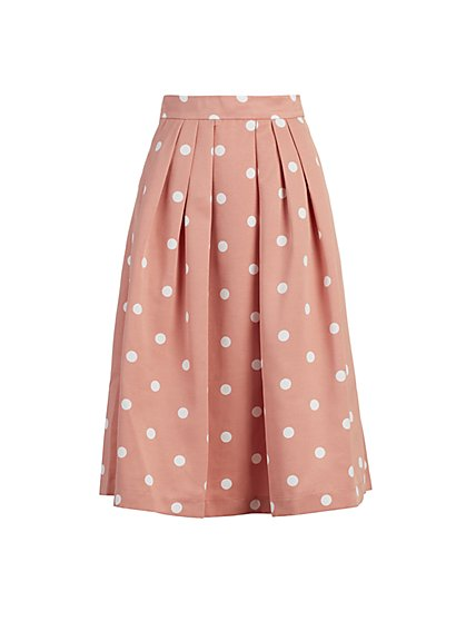 Maddie Dot-Print Skirt - Eva Mendes Fiesta Collection - New York & Company