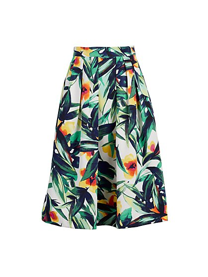 Maddie Floral Skirt - Eva Mendes Fiesta Collection - New York & Company