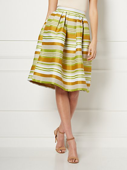 Maddie Stripe Skirt - Eva Mendes Fiesta Collection - New York & Company