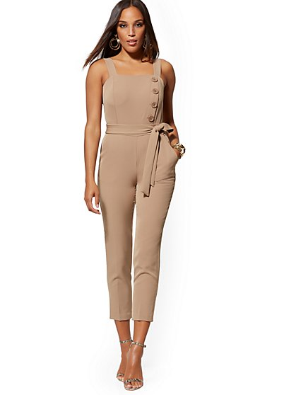Madie Belted Jumpsuit - 7th Avenue - New York & Company