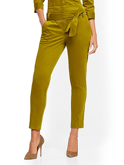 Madie Pant - Corduroy - 7th Avenue - New York & Company