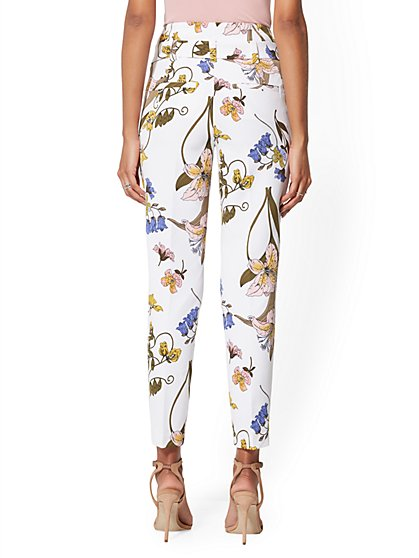 c41cb3c26af ... Madie Pant - Floral - 7th Avenue - New York   Company ...