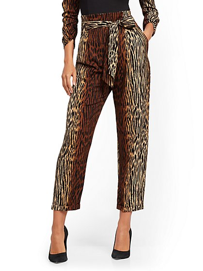 Madie Pant - Ombre Animal Print - 7th Avenue - New York & Company