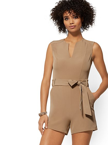 Madie Romper - 7th Avenue - New York & Company