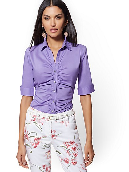 Madison Stretch Shirt - 7th Avenue - New York & Company