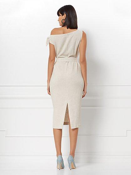 a912517aa49 ... Mariana Linen-Blend Shift Dress - Eva Mendes Collection - New York    Company