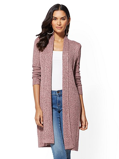 Marled Duster Cardigan - New York & Company