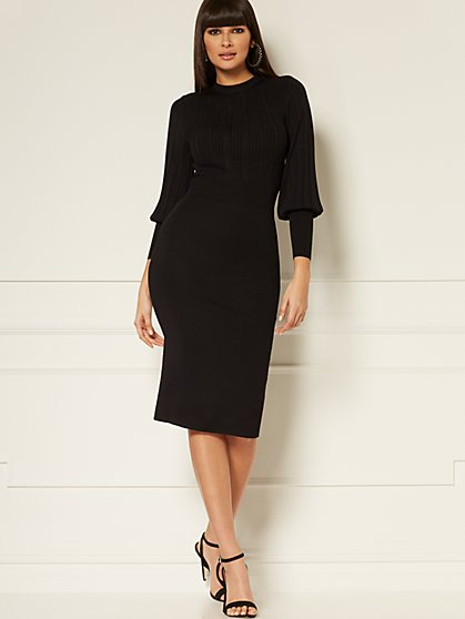 Marlo Sweater Sheath Dress - Eva Mendes Collection - New York & Company