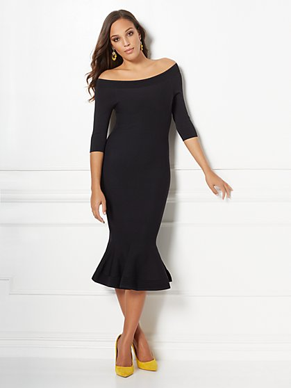 Melinda Sweater Dress - Eva Mendes Collection - New York & Company