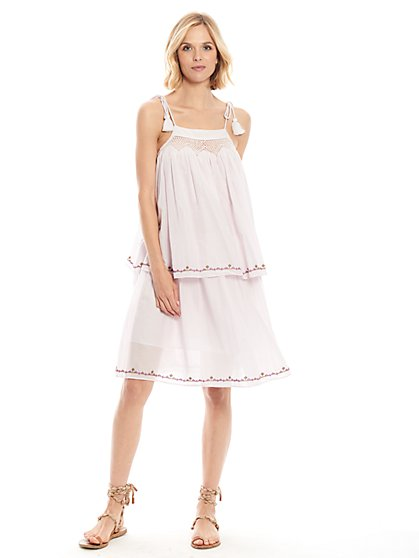 Mellow Two-Tier Dress - New York & Company