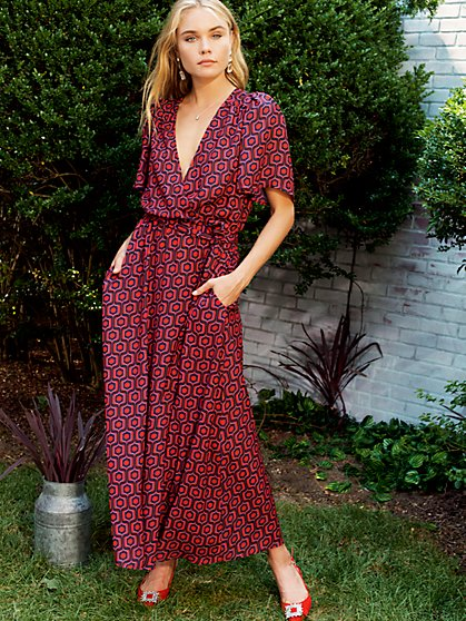 Melody Recycled Polyester Maxi Dress - New York & Company