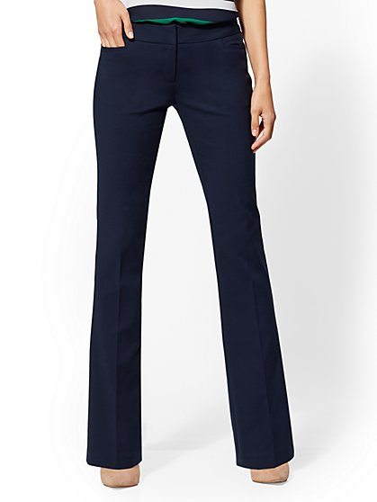 Mid Rise - Bootcut Pant - All-Season Stretch - 7th Avenue - New York & Company