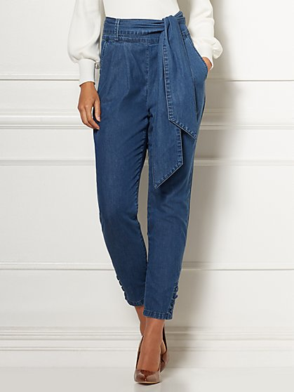Mid-Rise Josie Jeans - Eva Mendes Collection - New York & Company
