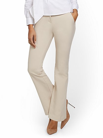 Mid-Rise Modern Bootcut Pant - All-Season Stretch - 7th Avenue - New York & Company