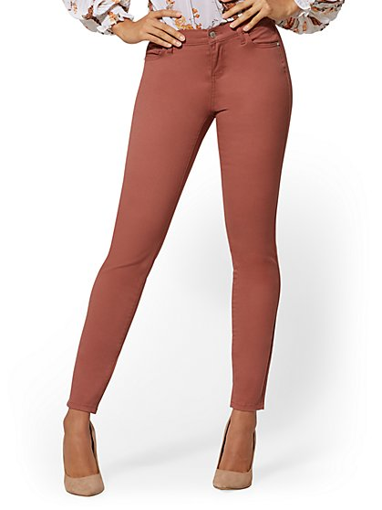 Mid-Rise Super-Skinny Jeans - New York & Company
