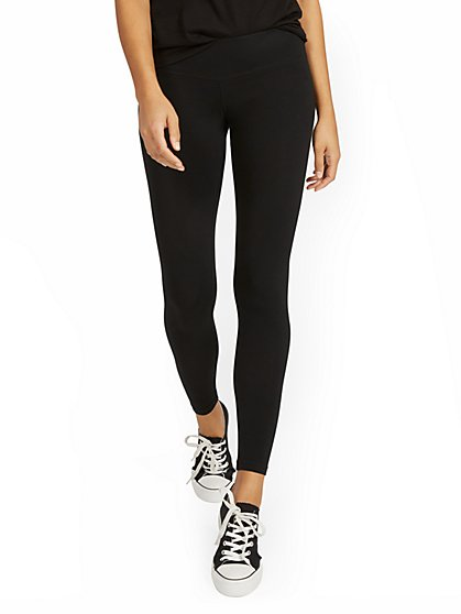 Mid-Rise Yoga Legging - New York & Company