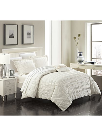 Millbury King-Size 4-Piece Duvet Set - NY&C x Chic Home - New York & Company