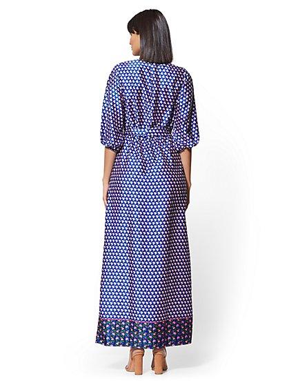 4fcc82f6c061 ... Mixed-Print Wrap Maxi Dress - New York   Company