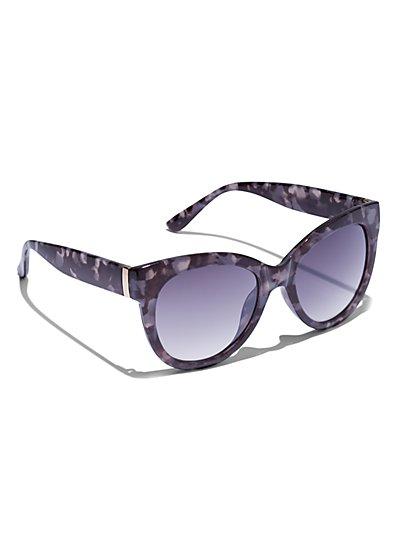 9ce55c843260 Modern Cat-Eye Sunglasses - New York & Company ...