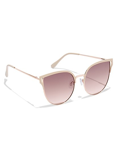 Modern Cat-Eye Sunglasses - New York & Company