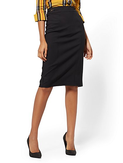 Modern Pencil Skirt - All-Season Stretch - 7th Avenue - New York & Company