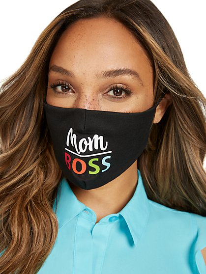 Mom Boss Face Mask - New York & Company