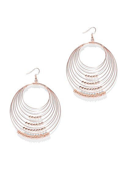 Multi-row Hoop Earring - New York & Company