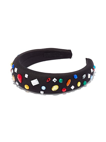 Multicolor Faux-Stone Headband - New York & Company