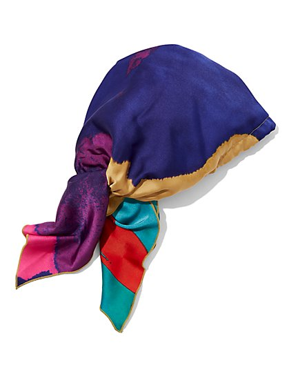 Multicolor Headscarf - Gabrielle Union Collection - New York & Company