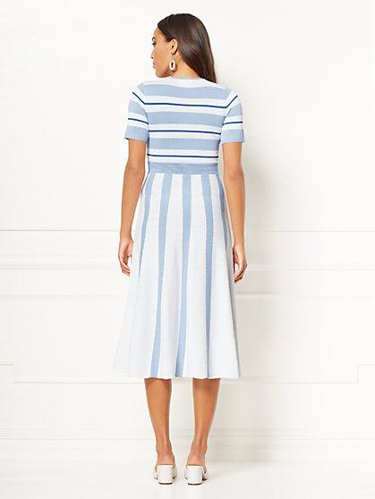 90fffeeb440 ... Myra Stripe Sweater Dress - Eva Mendes Collection - New York   Company