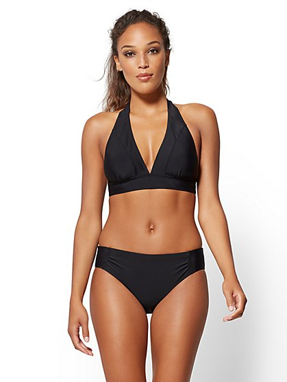 NY&C Swimwear - Halter Bikini Top - New York & Company