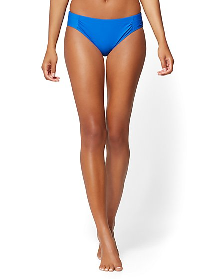 NY&C Swimwear - Mid-Rise Bikini Bottom - New York & Company