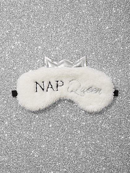 Nap Queen Faux-Fur Eye Mask - New York & Company