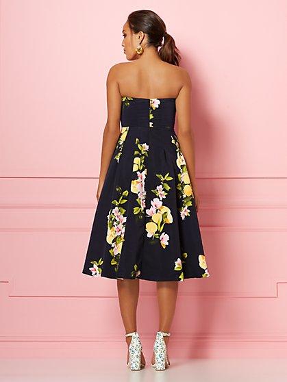 c7842f7978 ... Navy Lemon Del Mar Dress - Eva Mendes Party Collection - New York    Company