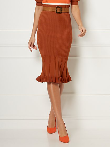 Nigella Sweater Skirt - Eva Mendes Collection - New York & Company