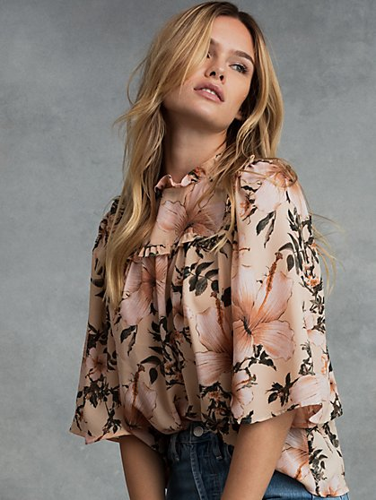 Nola Recycled Polyester Blouse - New York & Company