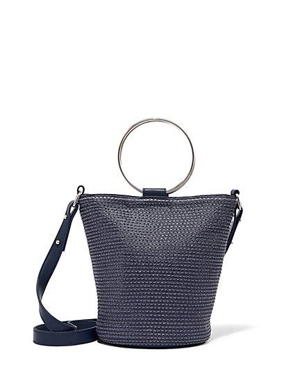 370257c52bba15 O-Ring Top-Handle Bucket Bag - New York   Company ...