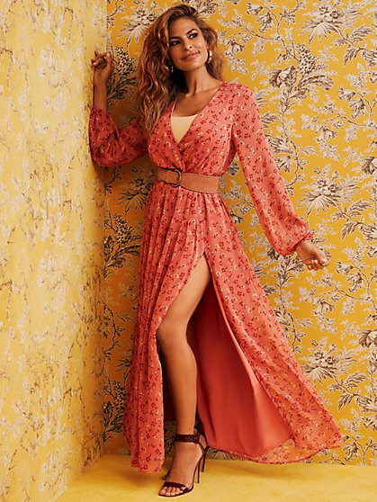 Odette Maxi Dress - Eva Mendes Collection - New York & Company