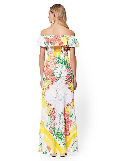 80b11eec8a09 ... Off-The-Shoulder Maxi Dress - New York   Company ...