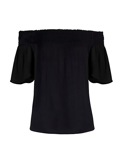 Off-The-Shoulder Top - New York & Company