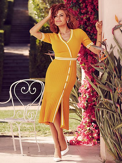 Olga Sweater Dress - Eva Mendes Collection - New York & Company