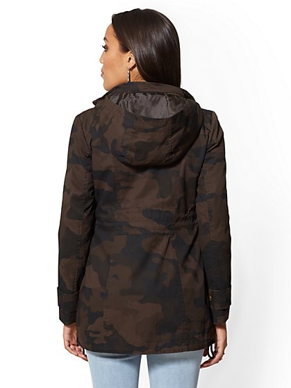ab5040e961fb45 ... Olive Anorak Jacket - New York   Company