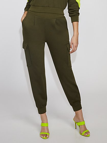 Olive Cargo Jogger Pant - Gabrielle Union Collection - New York & Company