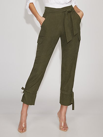 Olive Cargo Pant - Gabrielle Union Collection - New York & Company