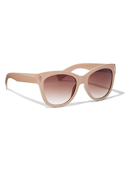 Ombre Cat-Eye Sunglasses - New York & Company