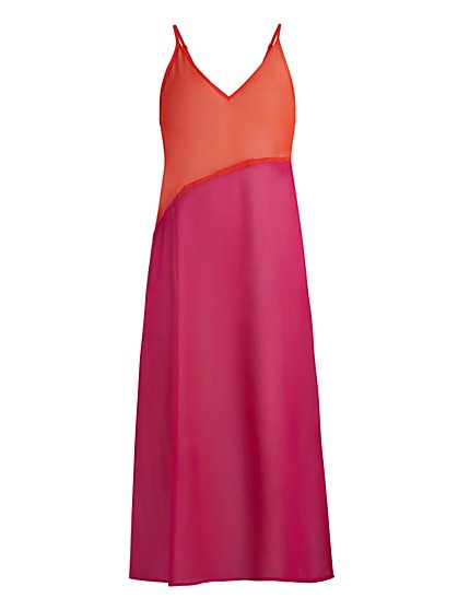 Ombre Maxi Coverup - NY&C Swimwear - New York & Company