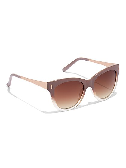 Ombre Nude Sunglasses - New York & Company