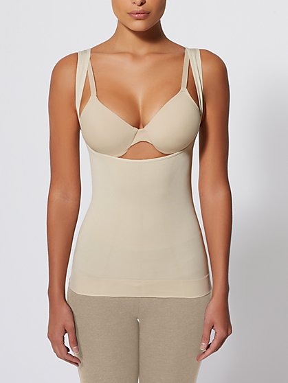 Open-Bust Seamless Layering Tank - Shape & Chic - New York & Company