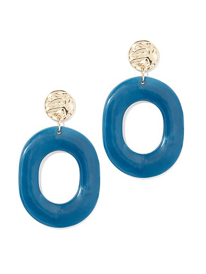 Open-Circle Drop Earring - New York & Company