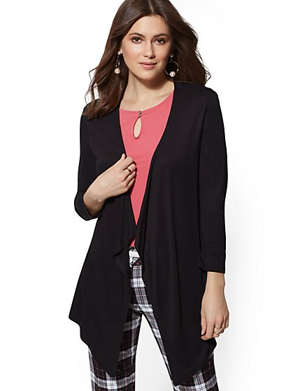 Open-Front Cardigan - 7th Avenue - New York & Company